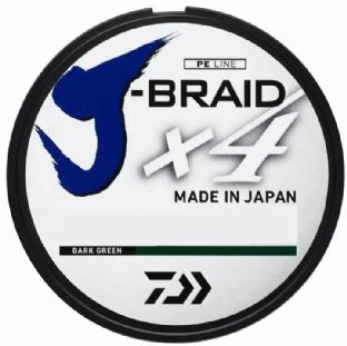 Daiwa J-Braid x4 - 270m Dark Green